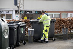 WASTE COLLECTOR Royalty Free Stock Photos