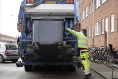 WASTE COLLECTOR Royalty Free Stock Images