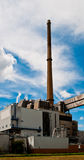 Waste combution plant Royalty Free Stock Images
