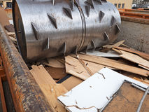Waste compactor Royalty Free Stock Photos