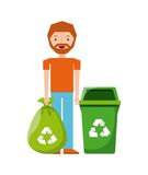 Waste concept design Royalty Free Stock Image