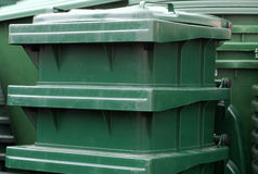 Waste containers Stock Photo