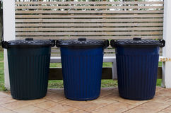Waste containers Stock Photography