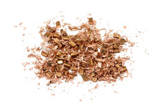 Waste copper shavings Royalty Free Stock Image