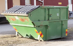Waste disposal container Stock Photos