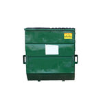 Waste dumpster royalty free stock images
