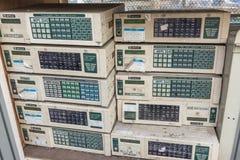 Waste of electronic. Stock Photo