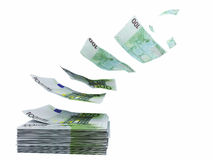 Waste euro Royalty Free Stock Images
