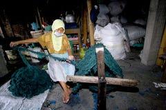 Waste fabric Stock Image