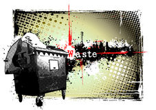 Waste frame Royalty Free Stock Photography