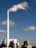 Waste incineration. Plant in Stuttgart Royalty Free Stock Photos