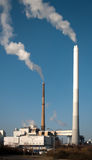 Waste incineration plant Stock Photography