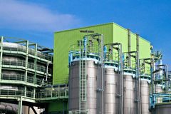 Waste incineration plant Stock Images