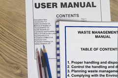 Waste management Stock Photo