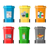 Waste management concept Royalty Free Stock Image