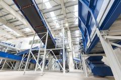 Waste management facility Royalty Free Stock Photo