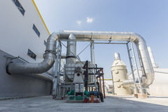 Waste management facility Royalty Free Stock Photography