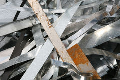Waste Metal Stock Image
