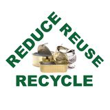 Waste metal recycling Stock Images