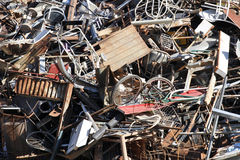 Waste objects for recycling Stock Images