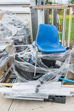 Waste office supplies Royalty Free Stock Photography