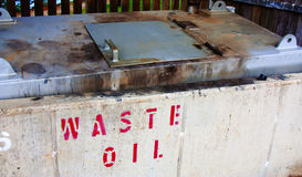 Waste oil Royalty Free Stock Image