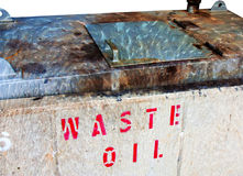 Waste oil Stock Photos