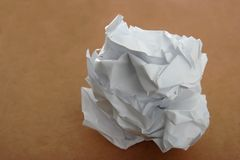 Waste Paper Royalty Free Stock Images