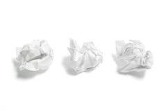 Waste Paper Balls royalty free stock image