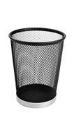 Waste Paper Basket. Home or office waste paper basket Royalty Free Stock Images