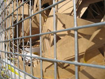 The Waste Paper Basket Stock Images