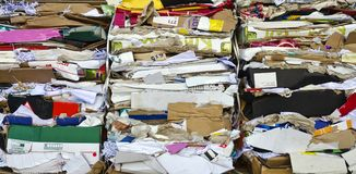 Waste paper Stock Photo