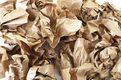 Waste paper, close-up Royalty Free Stock Images