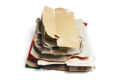 Waste Paper Products Stock Image