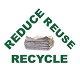 Waste paper recycling Stock Images