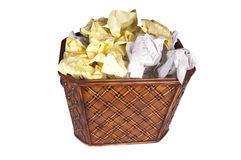 Waste paper Stock Images
