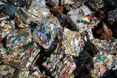 Waste pile Royalty Free Stock Images