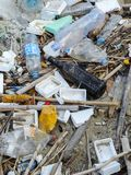 Waste pile Stock Photo