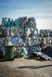 Waste piles Royalty Free Stock Image