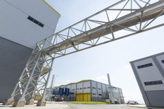Waste plant outside Royalty Free Stock Images