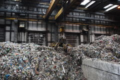Waste processing Stock Images