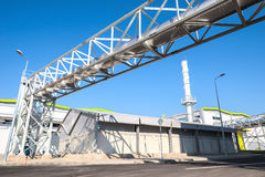 Waste processing pipeline system for processing waste gas Stock Photography