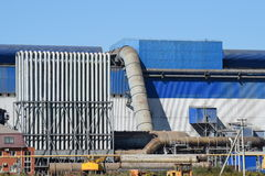 Waste recycling plant Stock Photography