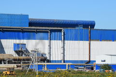 Waste recycling plant Stock Images