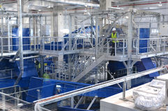 Waste recycling plant in Sofia, Bulgaria on Sept. , 2015. Waste recycling plant. Big plant for processing of household waste in Sofia, Bulgaria on Sept. , 2015 Stock Photo