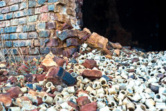 Waste rubble Royalty Free Stock Photos