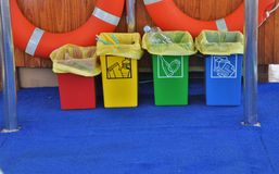 Waste Segregation Stock Photography