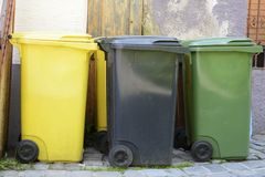 Waste Separation Stock Image