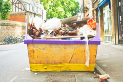 Waste Skip Stock Images