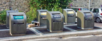 Waste sorting Royalty Free Stock Photography